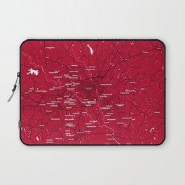 FanMap   NCAA UGA #04 Laptop Sleeve