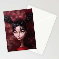 Caricature for a Bjork Stationery Cards