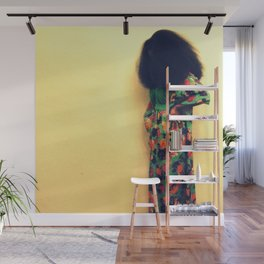 Afro : Vintage Style Wall Mural