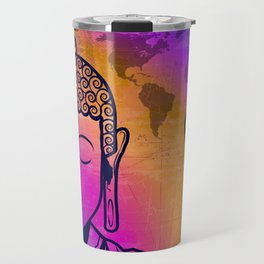 Buddha World Peace Travel Mug