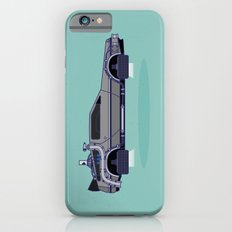 Flying Delorean Time Machine - Back to the future series iPhone 6s Slim Case