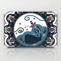 the whale iPad Cases featuring whale by gazonula