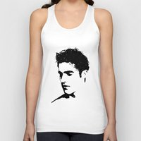 darren criss Tank Tops featuring Darren With Stars by byebyesally