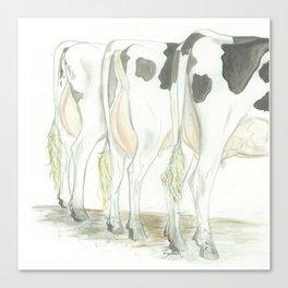 Dairy Queens Canvas Print