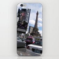 las vegas iPhone & iPod Skins featuring Vegas by MariaFalkenbach