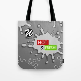 Hot and Fresh Paint Spots  Tote Bag