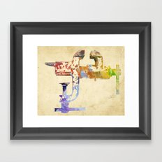 Industrial Clamp Framed Art Print