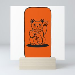 Lucky Cat 二 四 七 Mini Art Print