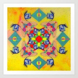 Inner Space 2 Art Print