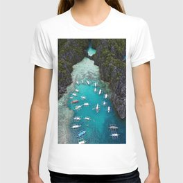 Island hopping in the Philippines T-shirt