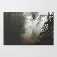 fog Canvas Prints featuring Fog by Melanie McKay