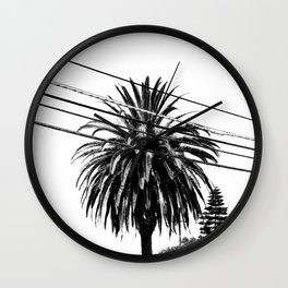 Through the Wires Wall Clock