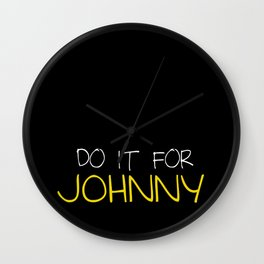 The Outsiders Johnny Wall Clock