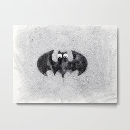 Cute Bat Baby Metal Print