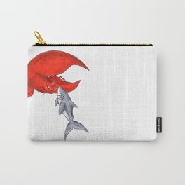Great White Lobstah Lovah Carry-All Pouch