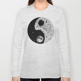 Yin Yang Universe Long Sleeve T-shirt