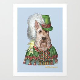 MADAME SCOTCH Art Print