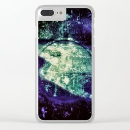 Out of Line Clear iPhone Case
