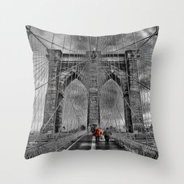 Bridge kid Throw Pillow