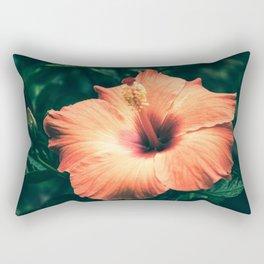Hibiscus in the bloom Rectangular Pillow