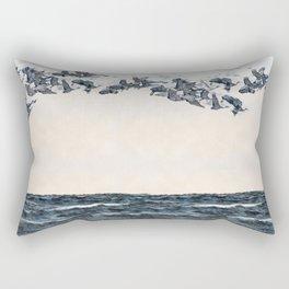 Old men should be explorers Rectangular Pillow