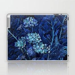 Hydrangea and Horseradish, Summer Plants, Floral Art Laptop & iPad Skin