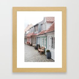 Aalborg, Denmark Framed Art Print