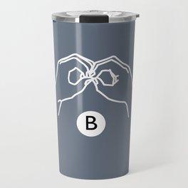 B Travel Mug