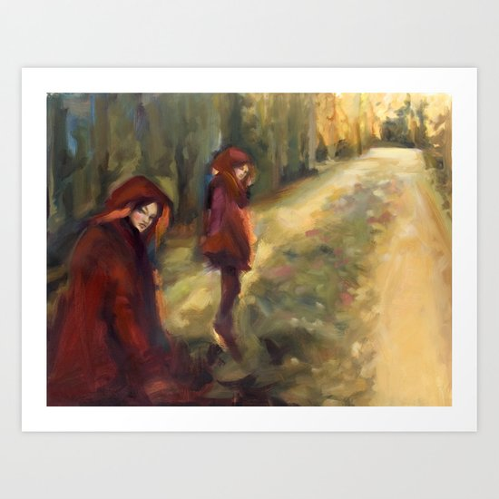 Agnes - Autumn Art Print