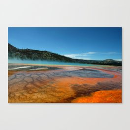 hot strip of water Canvas Print