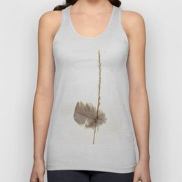 Feathered Grass Unisex Tank Top