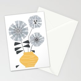 Midcentury Floral #society6 #decor #floral Stationery Cards