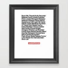 Crew of One Framed Art Print