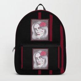 Dia De Los Muertos - Rose Backpack