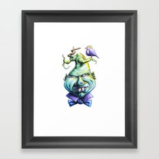 A Little Bird Framed Art Print