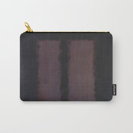 Black on Maroon 1958 by Mark Rothko Carry-All Pouch