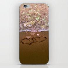 Love vs Letting Go iPhone & iPod Skin