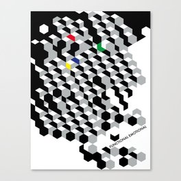 Functional emotional Canvas Print