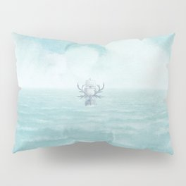 The Antlered Ship - Title Page Pillow Sham