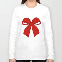 bow Long Sleeve T-shirts featuring bow by  MuDi
