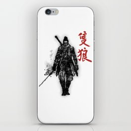 One Armed Wolf iPhone Skin