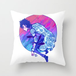 Little Chromatic Submarines Throw Pillow