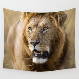 Lion, Masai Mara Wall Tapestry