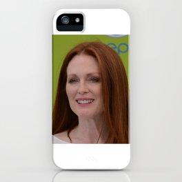 JULIANNE MOORE iPhone Case
