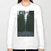 yosemite Long Sleeve T-shirts featuring Yosemite  by Andre Elliott