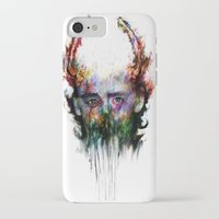 loki iPhone & iPod Cases featuring loki by ururuty