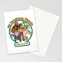 My Imaginary Friends Stationery Cards
