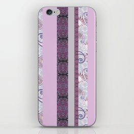 zakiaz French Stripe Lavender iPhone Skin
