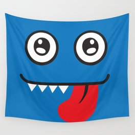 Blue Monster Wall Tapestry