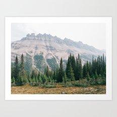 Mountain Forest - Landscape Photography Art Print